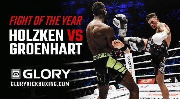 HOLZKEN VS GROENHART II WINS FIGHT OF THE YEAR