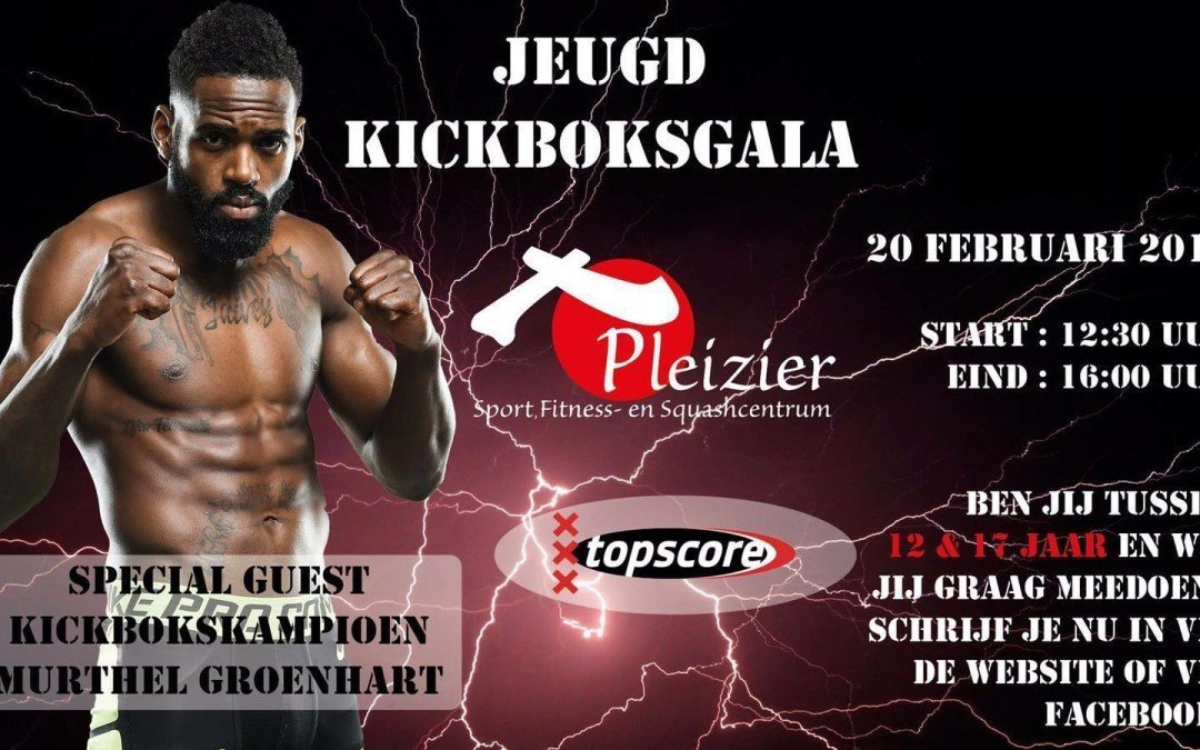 KICKBOXING YOUTH EVENT – WITH SPECIAL GUEST MURTHEL GROENHART