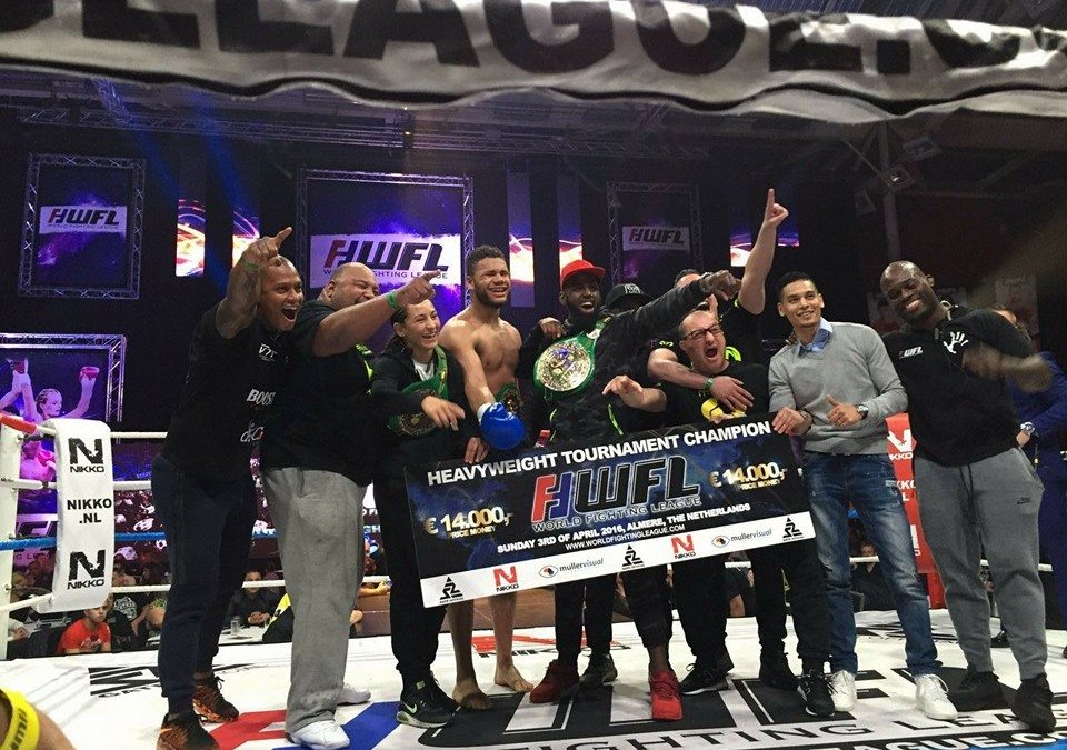 MURTHEL GROENHART WINS WFL 76KG TOURNAMENT