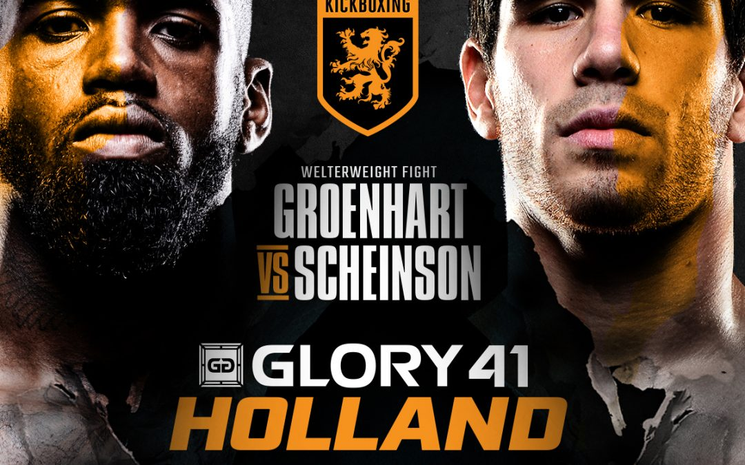 GLORY 41: MURTHEL GROENHART VS ALAN SCHEINSON