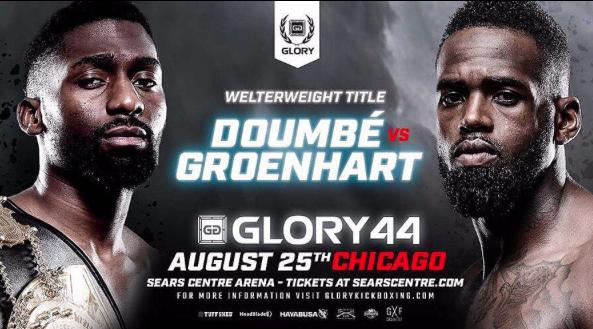 GLORY 44: MURTHEL GROENHART VS CEDRIC DOUMBE