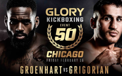 GLORY 50 CHICAGO: 1 MONTH COUNTDOWN