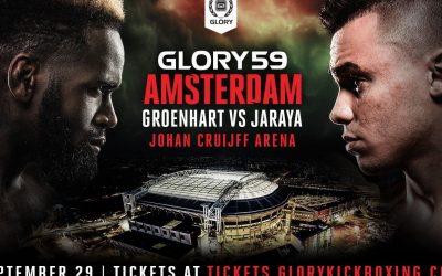 GLORY 59: MURTHEL GROENHART VS MOHAMMED JARAYA